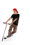 Scooter boy Stock Photography