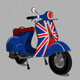 scooter Carrello 01 Royalty-vrije Stock Foto