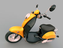 Scooter classique Images stock