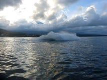 Scooter de mer sur la mer Vitesse et adr?naline images libres de droits