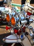 scooter de mod de style des années 1960 Photo stock