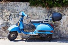 Scooter de vintage Image libre de droits