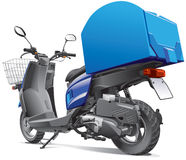 Scooter for delivery goods Stock Photography
