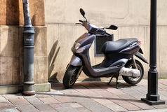 Scooter with an engine Stock Photography