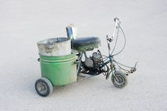 Scooter homemade Royalty Free Stock Image