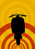 Scooter illustration Stock Photography