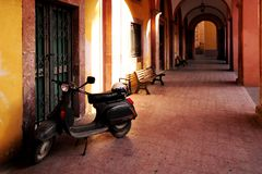 scooter italien Images stock