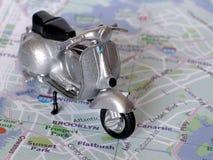 scooter klasycznego Obrazy Stock