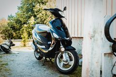 Scooter, Motor Vehicle, Motorcycle, Car Stock Photos