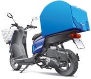 Scooter pour des marchandises de la distribution Photographie stock