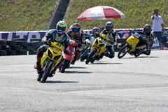 Scooter Prix Action royalty free stock photo