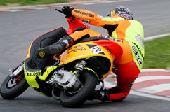 Scooter Race 2004. In BELGIUM,Spa-Francorchamps, July 18. 2004 Royalty Free Stock Image