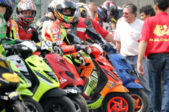 Scooter Race 2004 Royalty Free Stock Image