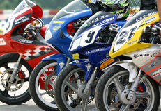 Scooter Race 2004 Stock Images