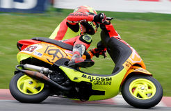 Scooter Race 2004. In BELGIUM,Spa-Francorchamps, July 18. 2004 Stock Image