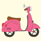 scooter retro Fotografia Stock