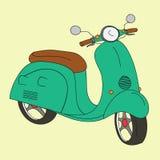 scooter retro Obrazy Stock