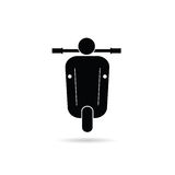 Scooter retro icon vector illustration Royalty Free Stock Photos