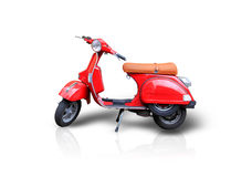 Scooter rouge images stock