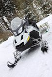 Scooter on snow Stock Images