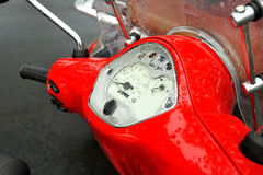 Scooter speedometer Royalty Free Stock Image