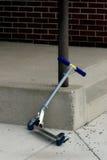 Scooter stationné Photographie stock libre de droits