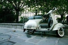 scooter white obraz royalty free