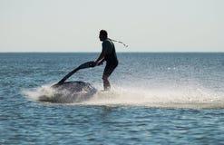 scooter wody zdjęcie royalty free