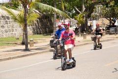 Scooters électriques Images libres de droits