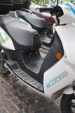 Scooters électriques d'Ecooltra Photographie stock libre de droits