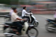 Scooters, Ho Chi Minh Ville Photographie stock libre de droits