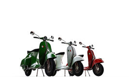 Scooters Royalty Free Stock Images