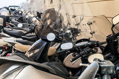 Scooters, Italie, Sicile image stock
