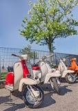 Scooters Laambretta de vintage Photo libre de droits