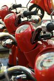 Scooters for Rent Royalty Free Stock Photos