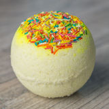 Scope bath. Cosmetic bomb. Meant for relaxation and body care Stock Images