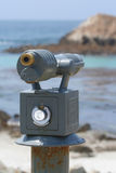 Scope at Bird Rock near Monterey Royalty Free Stock Photos