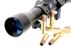 Scope and Bullets Royalty Free Stock Photo