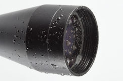 Scope covered in water Royalty Free Stock Photos
