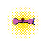 Scope icon in comics style Royalty Free Stock Image