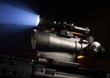 Scope and laser Stock Images