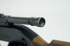 Scope and rifle Royalty Free Stock Photos