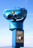 Scope on theElisabeth look-out tower royalty free stock image