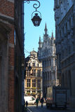 Scoperta del Grand Place Immagini Stock