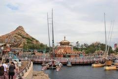 Scoperta del porto a Tokyo DisneySea Immagini Stock