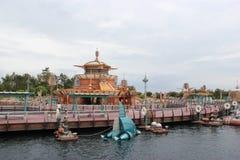 Scoperta del porto a Tokyo DisneySea Fotografia Stock Libera da Diritti