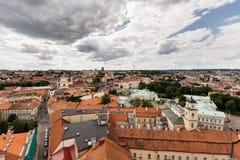 Scoperta di vecchia città di Vilnius Fotografia Stock Libera da Diritti