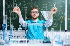 Scoperte importanti nella scienza Immagini Stock Libere da Diritti