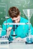 Scoperte nella scienza Fotografie Stock