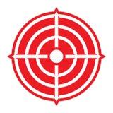 Scopo dei Crosshairs dell'obiettivo Fotografia Stock